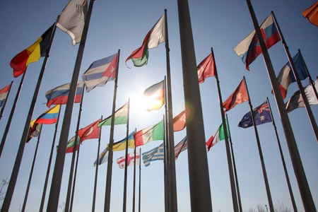 flags of the world Stock Photo - 13069702
