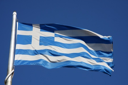 Flag of Greece Stock Photo - 13069684