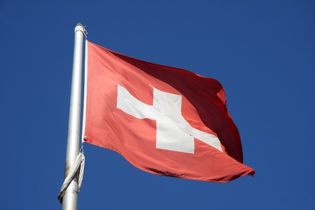 flag of Swiss photo