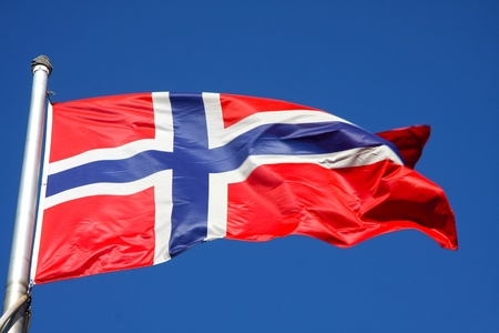 flag of Norway photo