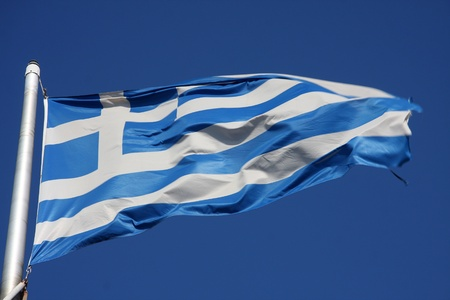 Flag of Greece Stock Photo - 13069648