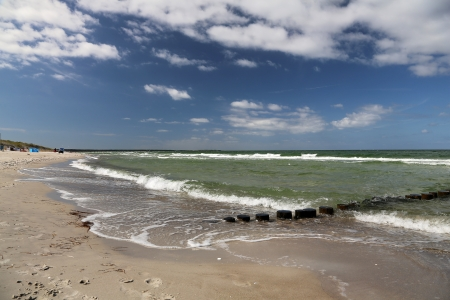 baltic sea: Baltic Sea beach at Prerow, Germany
