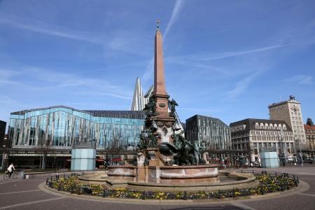 Augustusplatz Leipzig, Saxony  Editorial