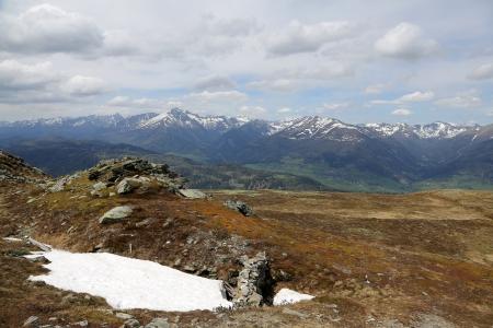 beautyful landscape, the Austrian Alps  photo