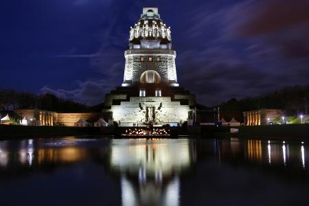 국가의 전투, 라이프 치히, 독일 기념비