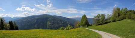 barrack: Austrian Alps Panorama
