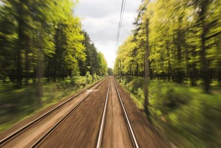 cape mode: Fliegende Landschaften durch Zugfenster Lizenzfreie Bilder