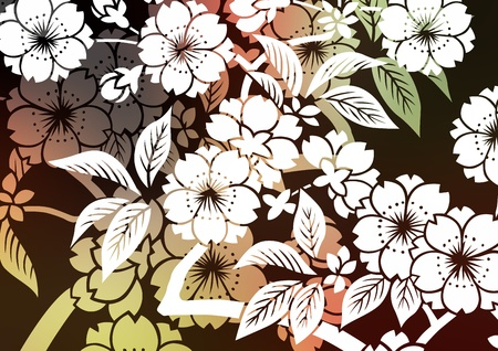 japanese pattern illustration: graphic patterns