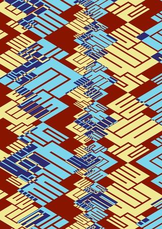 graphic patterns Stock Photo - 12524852