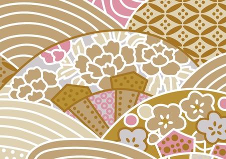japan pattern: graphic patterns