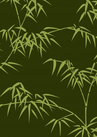 bamboo leaf: graphic patterns