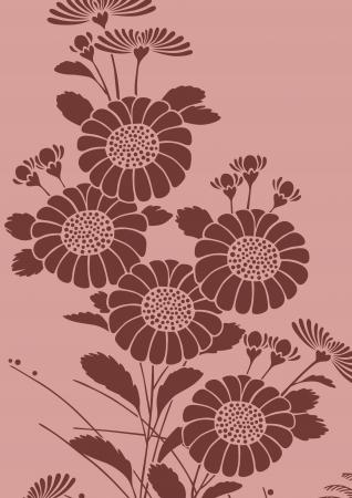 japanese chrysanthemum: graphic patterns