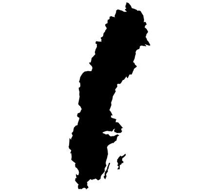 education in sweden: map sweden