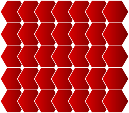 colored background with geometric shapes
