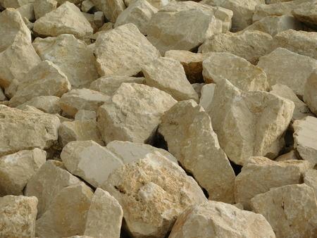 ices: stones outdoors Stock Photo