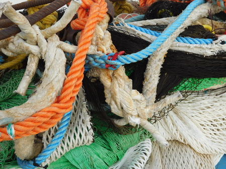 fishingnet: fishing net Stock Photo