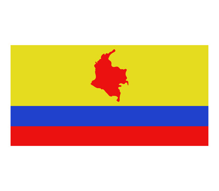 colombia: map colombia