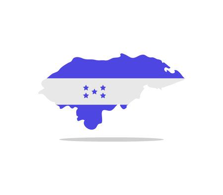 honduras: map honduras