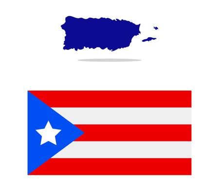 puerto: map puerto rico