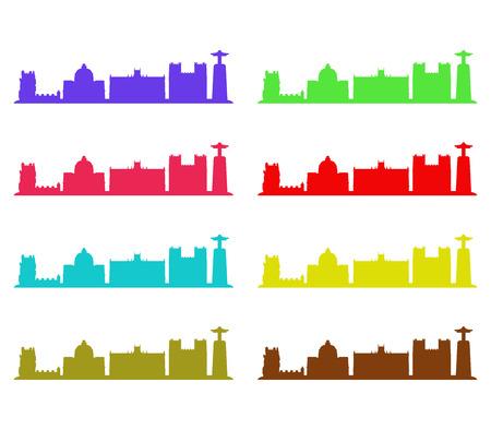 lisbon: lisbon skyline