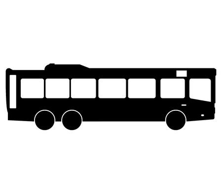 tourists stop: bus Stock Photo