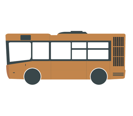 stop icon: bus Stock Photo