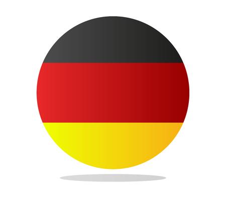 bandera alemania: pabell�n de Alemania  Foto de archivo