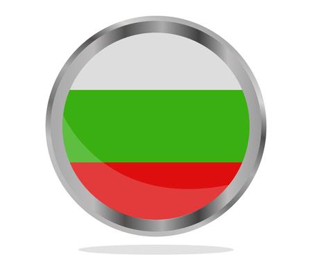 bulgaria: flag of bulgaria Stock Photo
