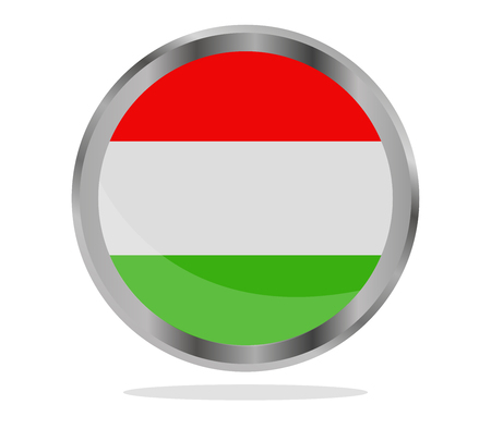 magyar: hungary flag Stock Photo