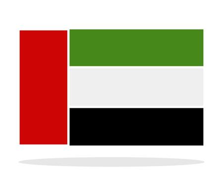 emirates: flag of the united arab emirates