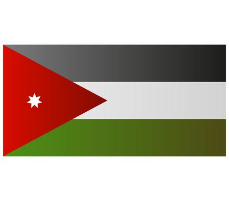 jordan: flag of jordan