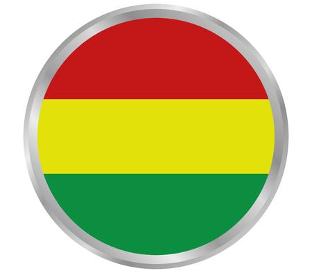 bolivia: flag of bolivia Stock Photo