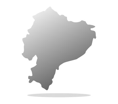 ecuadorian: Ecuadorian map