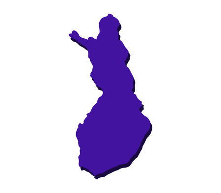 mercator: map of finland