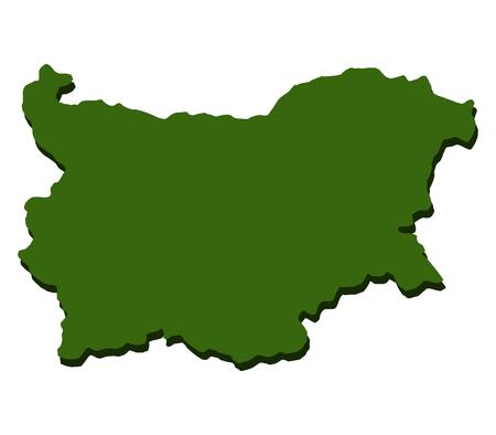 bulgaria: map of bulgaria