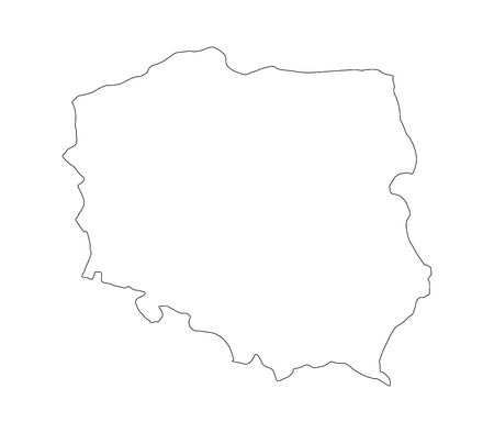 echo: Map of Poland