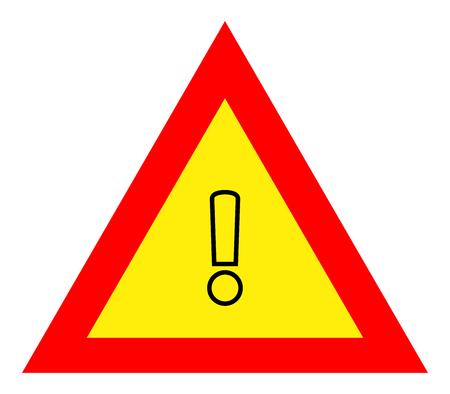 defect: warning sign