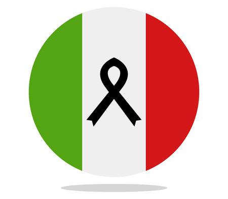 ruban noir: ruban noir Italie