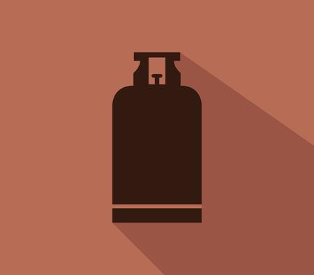 cilindro de gas: cilindro de gas icono