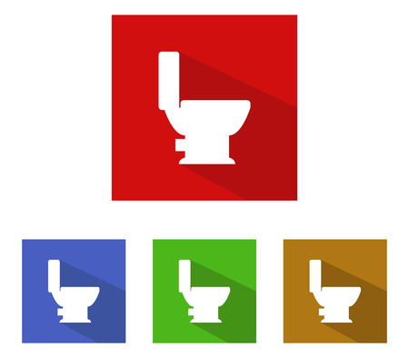 toilet icons: September toilet icons