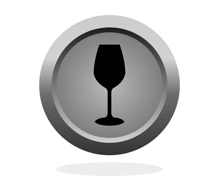 drinkware: glass of wine icon