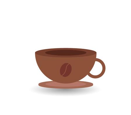 icon coffee mug Stock Photo