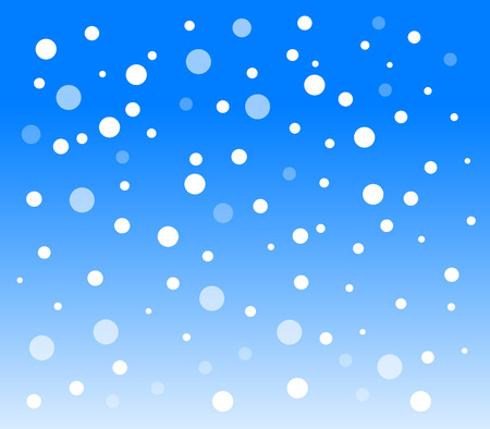 snowfall: background with snowflakes