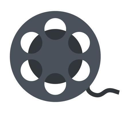 alte: icon film reel Stock Photo