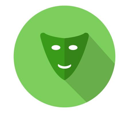 mascara de teatro: teatro de máscara