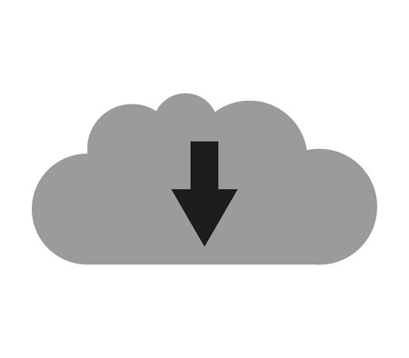 play date: cloud download icon