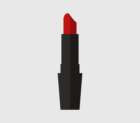 pomade: lipstick icon illustrated on a white background Illustration