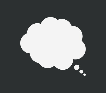 thought cloud: icon thought cloud