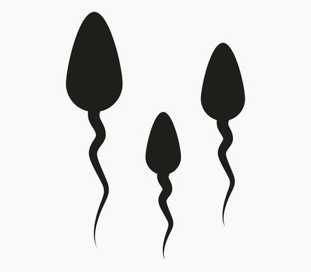 fertilization: sperm icon