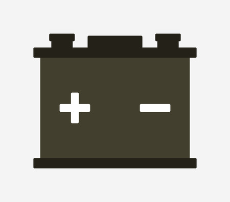 article icon: car battery icon